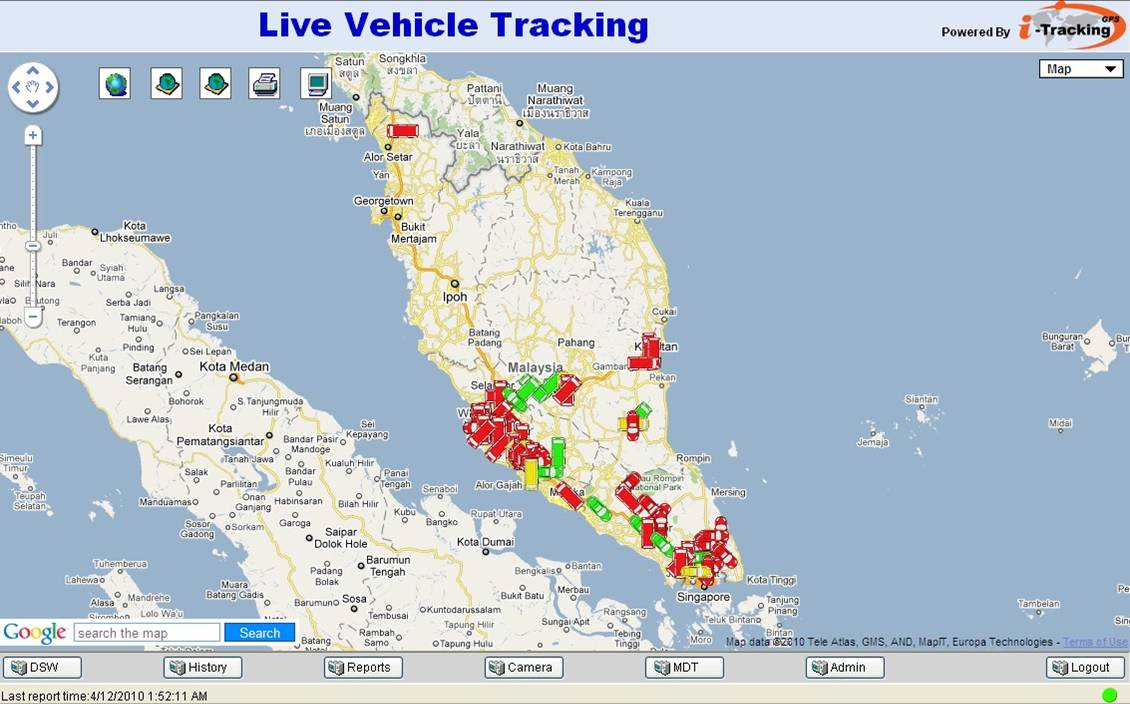 I Tracking Gps Client Access Live Vehicle Tracking
